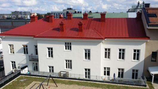 plåttak-takrenovering-stockholm