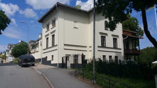 Fasadrenovering Tumba Saltsjögatan 17