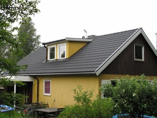 Trädgårdsv.44 Tumba Takläggning